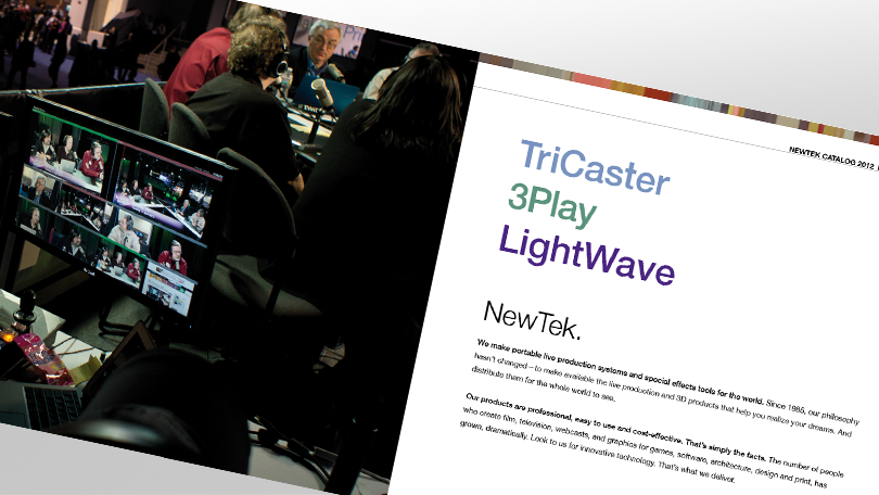 NewTek Catalogue 2012